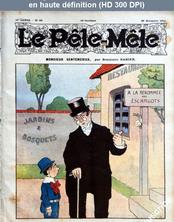 LE PELE MELE  numéro 48 du 26 novembre 1911