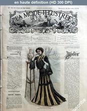 LA MODE ILLUSTREE  numéro 52 du 28 décembre 1902