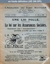 L' ANIMATEUR DES TEMPS NOUVEAUX  numéro 172 du 21 juin 1929