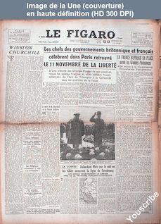 LE FIGARO  numéro 73 du 12 novembre 1944