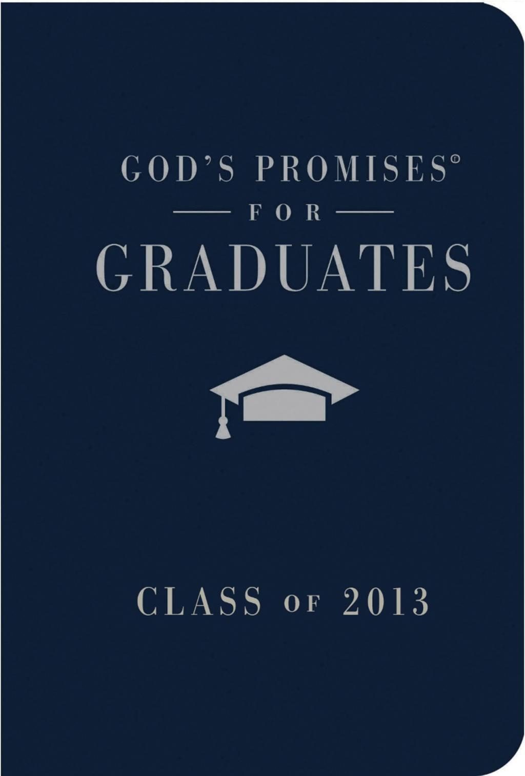 God's Promises for Graduates: Class of 2013 - Pink