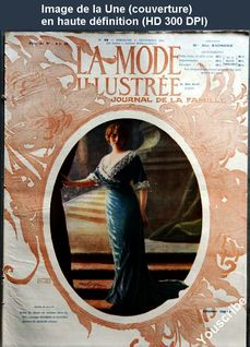 LA MODE ILLUSTREE  numéro 38 du 17 septembre 1911
