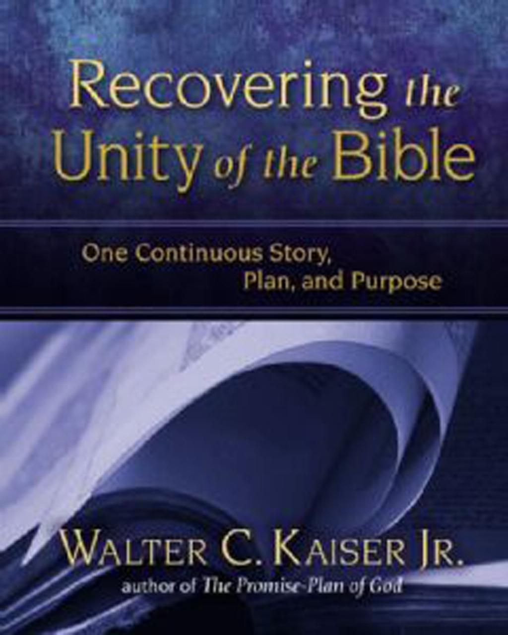 Recovering the Unity of the Bible