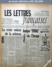 LES LETTRES FRANCAISES  numéro 71 du 01 septembre 1945