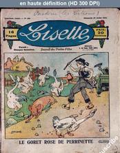 LISETTE numéro 158 du 20 juillet 1924