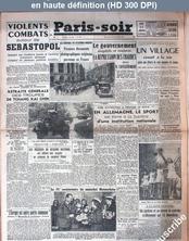 PARIS SOIR numéro 659 du 11 juin 1942