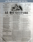 LE MOUSQUETAIRE  numéro 308 du 04 novembre 1855