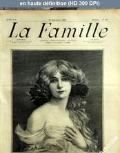 LA FAMILLE  numéro 1407 du 23 septembre 1906