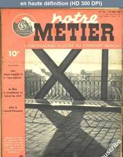 NOTRE METIER LA VIE DU RAIL numéro 144 du 30 mars 1948