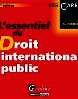L'essentiel du droit international public. 6e éd.