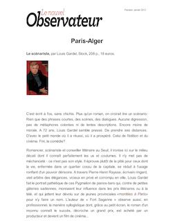 Paris-Alger