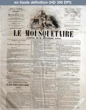 LE MOUSQUETAIRE  numéro 319 du 15 novembre 1855