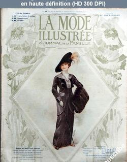 LA MODE ILLUSTREE  numéro 45 du 10 novembre 1912