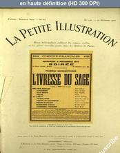LA PETITE ILLUSTRATION THEATRE  numéro 126 du 23 décembre 1922