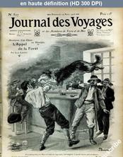 JOURNAL DES VOYAGES numéro 507 du 19 août 1906