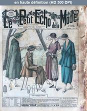 LE PETIT ECHO DE LA MODE  numéro 25 du 19 juin 1921