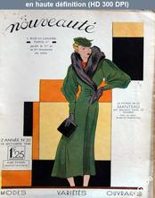 NOUVEAUTE numéro 20 du 18 octobre 1936