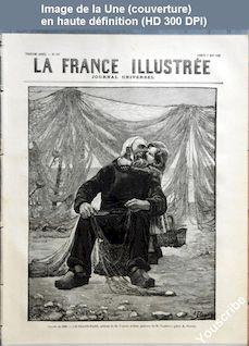 LA FRANCE ILLUSTREE  numéro 597 du 08 mai 1886