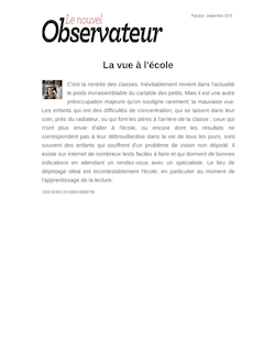 Resume des chapitres du livre le faucon deniche