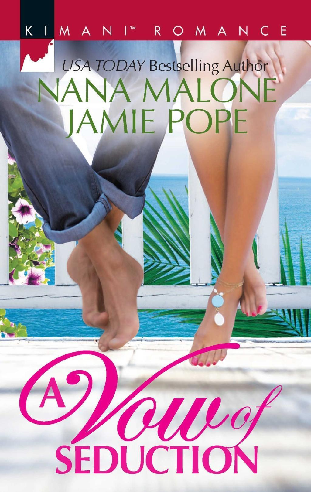 A Vow Of Seduction: Hot Night in the Hamptons / Seduced Before Sunrise (Mills & Boon Kimani)