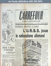 CARREFOUR numéro 100 du 18 juillet 1946