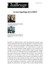 Le bon aiguillage de la SNCF