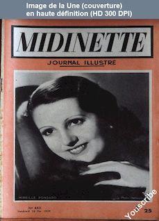 MIDINETTE numéro 653 du 26 mai 1939