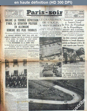 PARIS SOIR du 02 juillet 1934