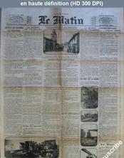 LE MATIN  numéro 11258 du 24 décembre 1914
