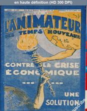 L' ANIMATEUR DES TEMPS NOUVEAUX  numéro 293 du 16 octobre 1931