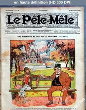 LE PELE MELE  numéro 48 du 29 novembre 1908