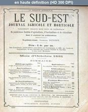 LE SUD EST  du 01 octobre 1881