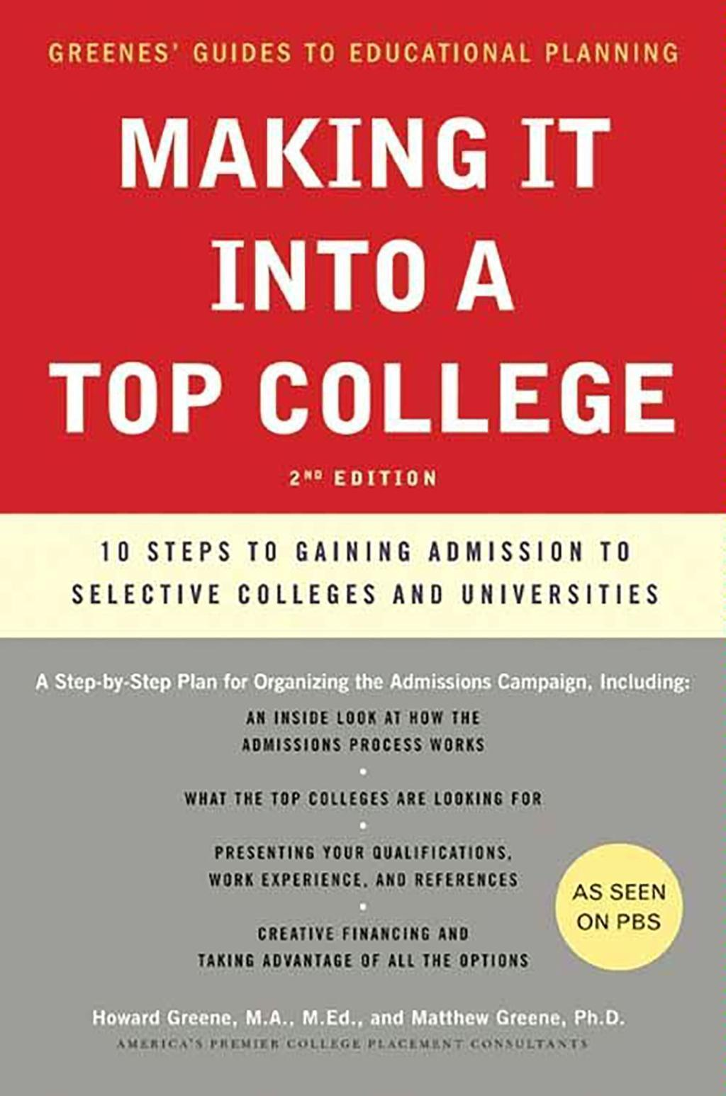 Making It into a Top College