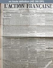 L' ACTION FRANCAISE  numéro 269 du 14 décembre 1908