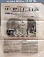LA SCIENCE POUR TOUS  numéro 14 du 11 mars 1858