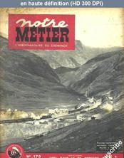 NOTRE METIER LA VIE DU RAIL numéro 179 du 27 décembre 1948