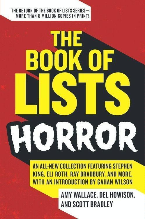 The Book of Lists: Horror