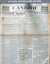 CANDIDE numéro 365 du 12 mars 1931