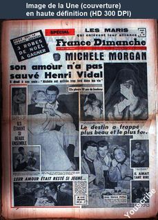 FRANCE DIMANCHE numéro 695 du 17 décembre 1959