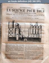 LA SCIENCE POUR TOUS  numéro 11 du 12 février 1863