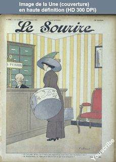 LE SOURIRE  numéro 50 du 11 décembre 1909