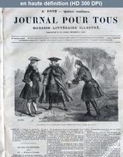 LE JOURNAL POUR TOUS  numéro 1022 du 17 juillet 1867