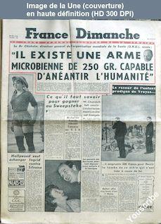 FRANCE DIMANCHE numéro 160 du 20 septembre 1949