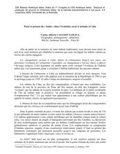 Passé et présent du « bohío » dans l'évolution rurale et urbaine à Cuba