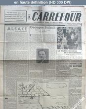 CARREFOUR numéro 3 du 09 septembre 1944