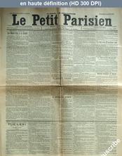 LE PETIT PARISIEN  numéro 5780 du 24 août 1892