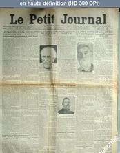 LE PETIT JOURNAL  numéro 18564 du 24 octobre 1913