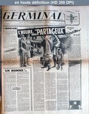 GERMINAL numéro 11 du 07 juillet 1944