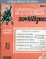 ETUDES SOVIETIQUES numéro 10 du 01 février 1949