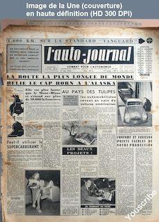 L' AUTO-JOURNAL  numéro 7 du 01 juin 1950